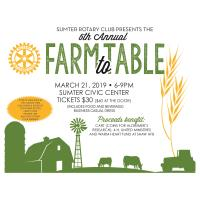 Farm to Table by Sumter Rotary Club