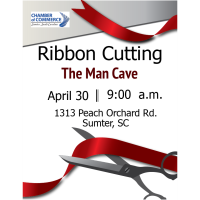 Ribbon Cutting -The Man Cave
