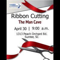 Ribbon Cutting -The Man Cave
