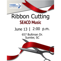 Ribbon Cutting Ceremony- SEACO Music