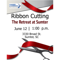 Ribbon Cutting Ceremony- The Retreat at Sumter