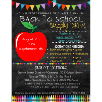 Young Professionals of Sumter School Supply Drive