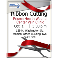 Ribbon Cutting - Prisma Health Wound Clinic Vein Center