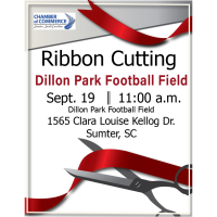 Ribbon Cutting - Dillon Park Football Field
