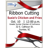 Ribbon Cutting - Susie's Chicken and Fries