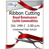 Ribbon cutting - Royal Renaissance: Castle Commodities