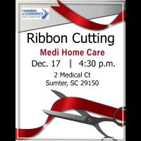 Ribbon Cutting - Medi Home Care