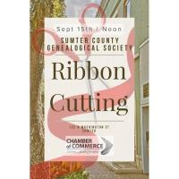 Ribbon Cutting-Sumter County Genealogical Society