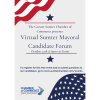 Virtual Sumter Mayoral Candidate Forum