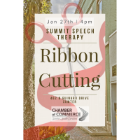 Ribbon Cutting - Summit Speech Therapy,LLC