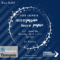 2021 Chamber Gala Presented by Thompson Family of Companies