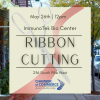 Ribbon Cutting - ImmunoTek Bio Center