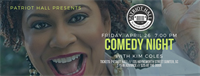 Comedian, Kim Coles at Patriot Hall, April 26