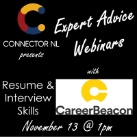 Resume & Interview Skills with Career Beacon: Connector NL Expert Advice
