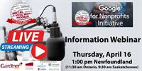 DSMP Google Nonprofit Initiative Information Webinar