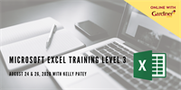 Microsoft Excel Training: Level 3 *ONLINE*