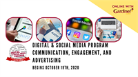 Digital and Social Media Communication, Engagement, and Advertising *ONLINE*