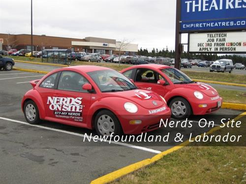 NerdMobiles at Mount Pearl Square