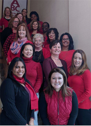 ABC goes Red for Women in support of American Heart Month