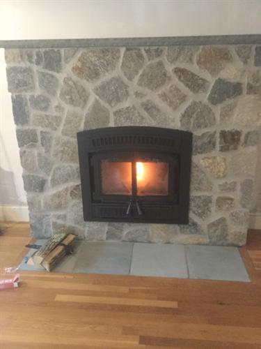 New Install, Interior Stonework