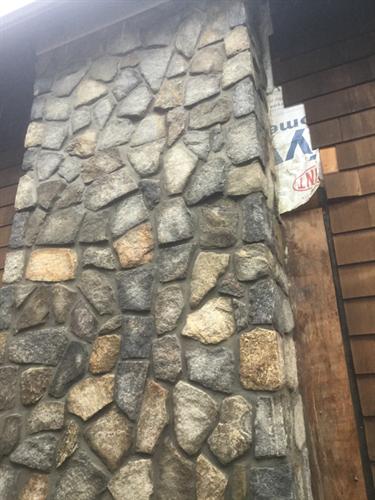 New Install, Exterior Stonework