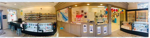 Panoramic view of our shop