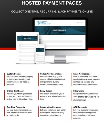 Automate your billing to easily control days outstanding ,reoccurring payments  and email pay links  to Quickly get paid for quotes deposits and invoices.
