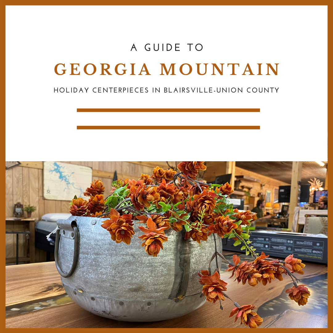 A Guide to Georgia Mountain Holiday Centerpieces