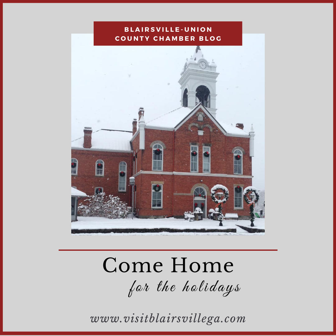Come Home For The Holidays (even if you live here)