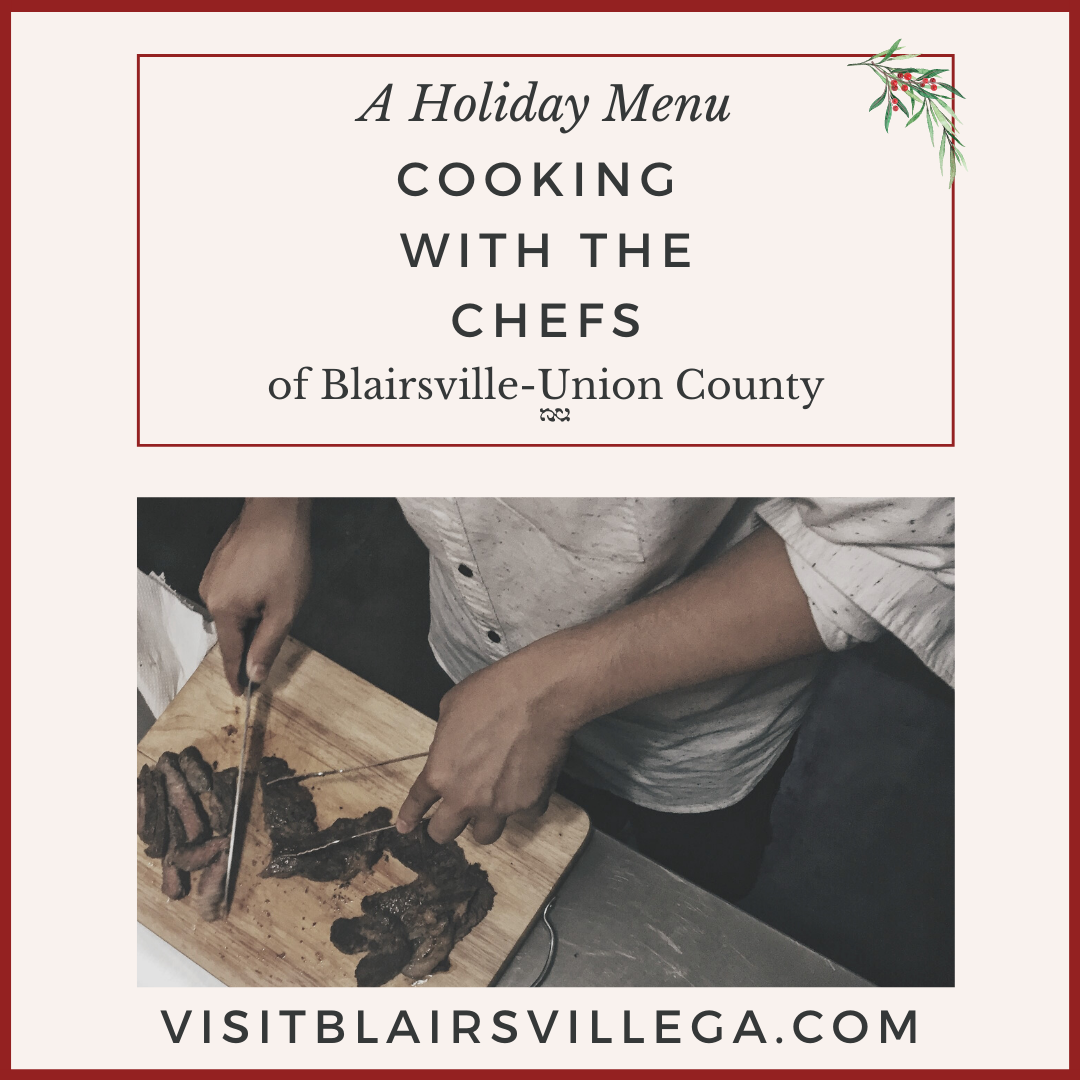 Image for A Holiday Menu:  Cooking with the Chefs of Blairsville-Union County