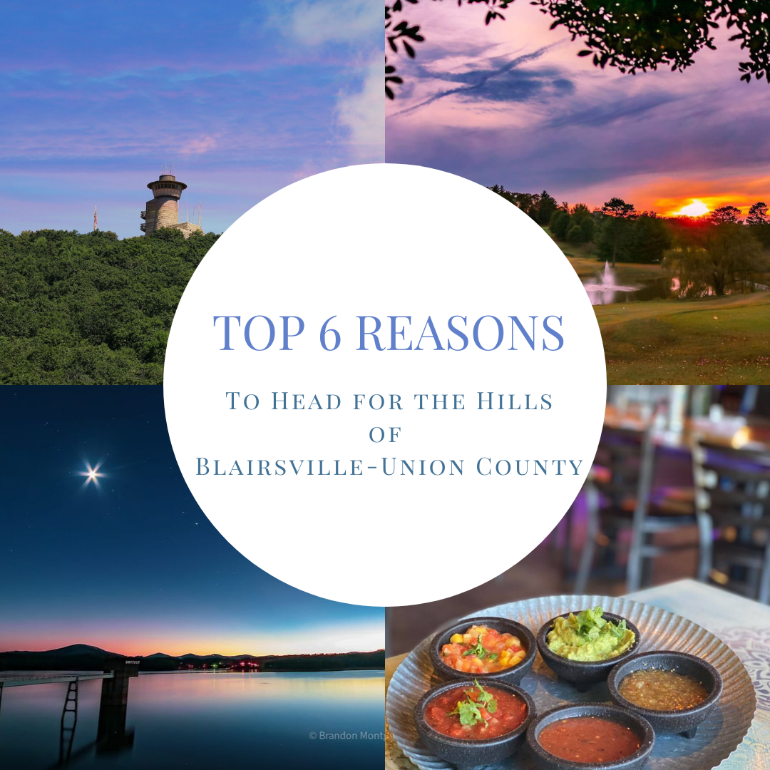 Image for TOP 6 Reasons To Head For The Hills of Blairsville-Union County