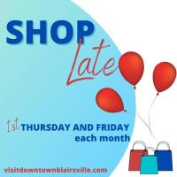 Shop Late Thursday - Downtown Blairsville!