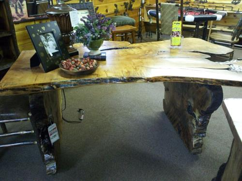 Maple Slab Desk
