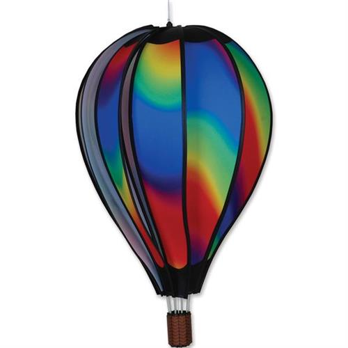 Hot Air Balloon Wind Spinner Wavy Gradient