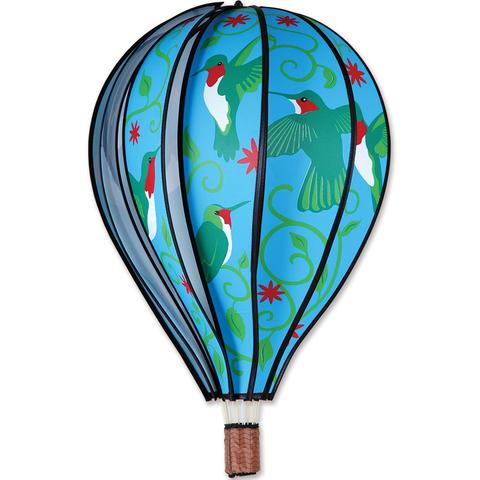 Hot Air Balloon Wind Spinner Hummingbird