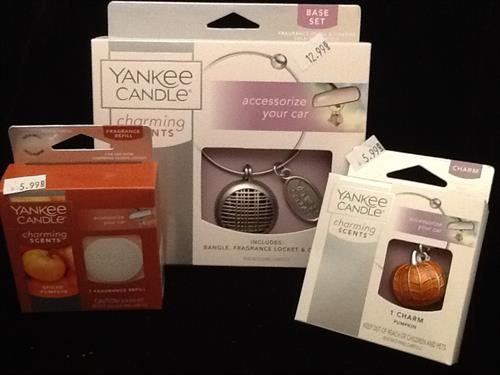 Yankee Candle Charming Scents for your car