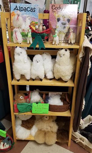 Alpaca fur toys