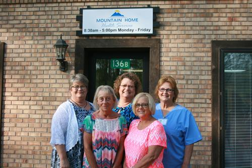 Mountain Home Health Office Staff