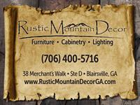 Rustic Mountain Decor