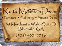 Rustic Mountain Decor - Blairsville