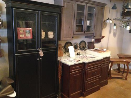 Kitchen & Bath Cabinetry & Rustic Lighting
