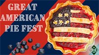 2nd Annual Great American Pie Fest (honoring our Heroes)