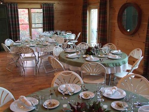 Wedding Reception at Lodge