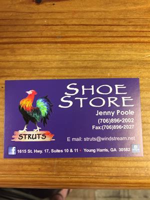 Struts Shoe Store