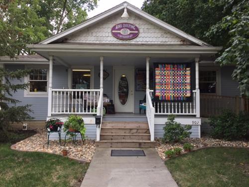 Little Quilt Shop on the Prairie (909 Prairie Street)
