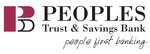 Peoples Trust & Savings Bank