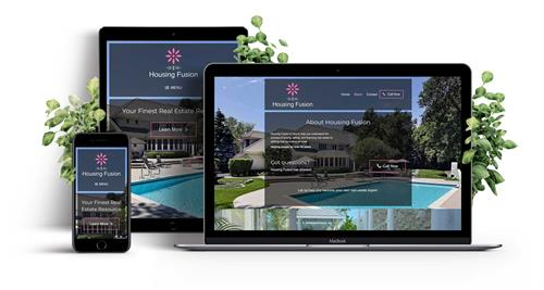 Custom Sacramento web design responsive website for local real estate consultant in Roseville.