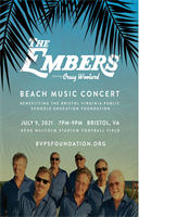 BVPS Education Foundation Beach Music Concert Fundraiser featuring The Embers, with Craig Woolard