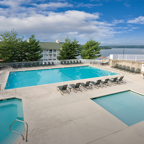 Outdoor Pool, Children's Pool and Hot Tub