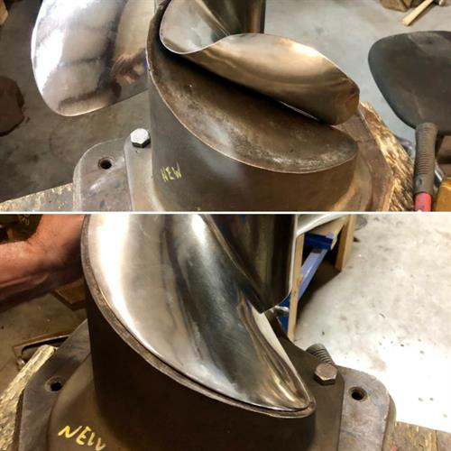 Visit us for all your propeller repair needs!